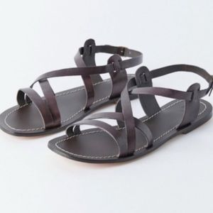 Urban Outfitters Selena Gladiator Sandals Brown